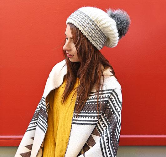 bonnet et châle